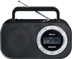 Lenco PR2700 FM Transistorradio AUX, FM, USB Zwart