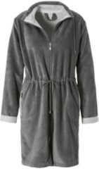 Grijze VANDYCK CHICAGO badjas Mole Grey-001 (maat Small)