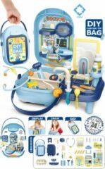 FDBW Speelgoed Dokterskoffertje | Dokterset Speelgoed | Speelgoed Dokter Plastic | Dokter Speelgoed Set – Dokterskoffertje