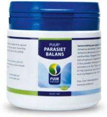Puur natuur 60 capsules Puur parasitus (parasiet balans) voor de hond en kat