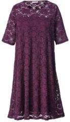 Kleid mit Spitze Zhenzi Marineblau