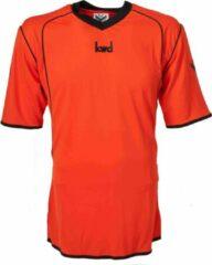 KWD Sportshirt Victoria korte mouw - Oranje/zwart - Maat XXL
