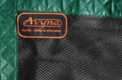 Los veiligheidsnet tbv Avyna trampoline 275 x 190 - Groen