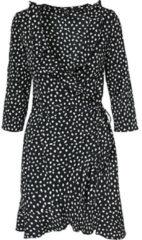VERO MODA Kleid schwarz/weiß Damen Gr. 42