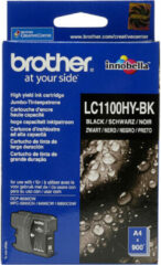 Brother LC-1100HYXL Cartridge Zwart
