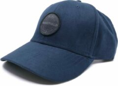 Suede Pet Blauw - Baseball Pet Model - Blauwe Wakefield Cap - Petten