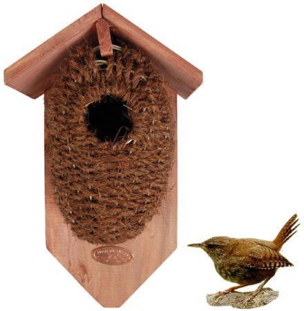 Afbeelding van Best For Birds Nestbuidel Kokos - Vogelbroedbenodigheden - 0.46 g Bruin Groen per stuk