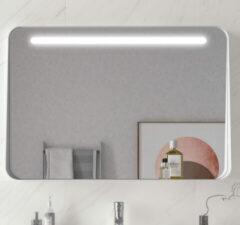 Muebles Polo spiegel met LED-verlichting 80x70cm wit