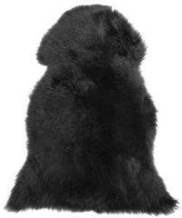 Beliani ULURU Schapenvacht Zwart Echt leer 80 x 150 cm
