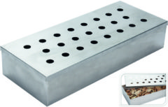 Excellent Houseware Rookbox Barbecue Afmetingen: 24 x 10 x 4,5 cm - RVS
