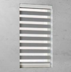 Grijze Pure Living Duo Rolgordijn lichtdoorlatend Grey - 100x175 cm