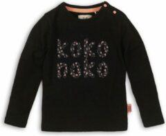 Koko Noko longsleeve Girls zwart Maat: 128