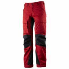 Rode Lundhags - Women´s Authentic Pant - Trekkingbroek maat 46 - Regular rood/zwart