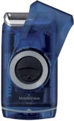 Braun scheerapparaat MobileShave Pocket M-60 (blauw)