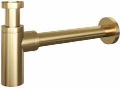 Douche Concurrent Wastafel Sifon Brauer Gold Edition Geborsteld Goud PVD