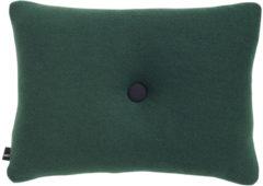 Donkergroene Hay Cushion Dot Tonus kussen-Donker groen