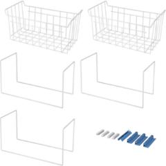 WPRO Fleximode - Korb für Gefrierschrank. Passt in Gefrierschränke von 311Lt. Gefrierschrank für Gefrierschrank 484000000967, FLM300