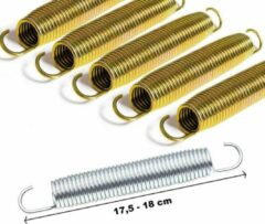 Rainbow Trampolines Set Trampoline Veren Gold 180 mm - 5 stuks per set