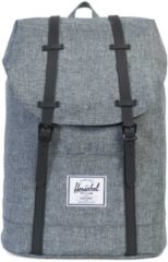 Herschel Rucksack mit Laptopfach, »Retreat Backpack, Raven Crosshatch«