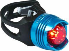 RFR Diamond fietsverlichting red LED blauw/zwart