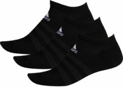 Zwarte Adidas Cushioned Low-Cut Socks 3 Pairs - Sokken