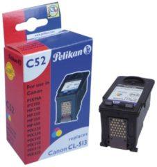 Pelikan C52 - 18 ml - Farbe (Cyan, Magenta, Gelb) - Tintenpatrone (Alternative zu: Canon CL-513) 4105738