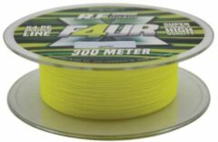 Roy Fishers X4 Braid - Yellow - 0.25mm - 16.75kg - 300m - Geel