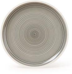 Grijze Villeroy & Boch Manufacture Gris Ontbijtbord 22 cm