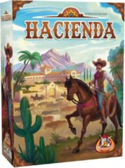 Blauwe White Goblin Games gezelschapsspel Hacienda (NL)