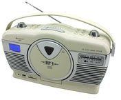 Soundmaster RCD1350WS Retro CD/MP3/USB Radio in verschiedenen Farben Farbe: beige