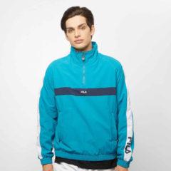 Blauwe Jas Fila Jona Woven Half Zip Jacket
