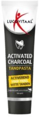 Lucovitaal Tandpasta Activated Charcoal - 100 ml