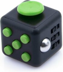 AWR Kwalitatieve Fidget Cube / FriemelKubus   Anti Stress Speelgoed   Fidget Toy - Zwart Groen