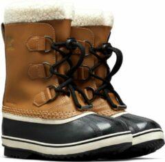 Sorel Snowboots - Maat 39 - Unisex - bruin/zwart/wit