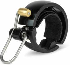 Zwarte Knog OI Luxe Bike Bell - Fietsbellen
