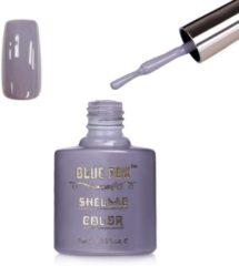 Zilveren Blue Fox Silver Gray Gelnagellak