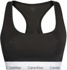 Calvin Klein - dames unlined bralette plus size zwart - 3XL