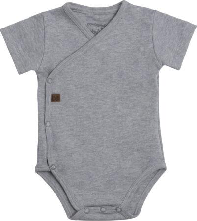 Afbeelding van Baby's Only Rompertje Melange - Grijs - 62 - 100% ecologisch katoen - GOTS
