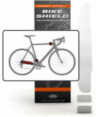 Transparante Bike Shield Bikeshield frame bescherming Stay/head shield kit glossy protectie sticker