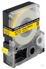 Epson sterk hechtende tape breedte 12 mm, zwart/geel
