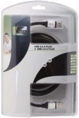 Usb Kabel 3.0 - A Plug Naar A Plug/ Professioneel / 2.5m - [PAC604T025]