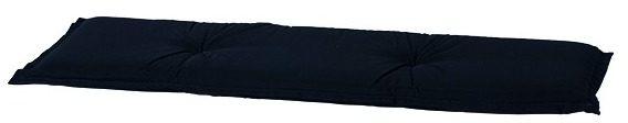 Afbeelding van Zwarte Madison bankkussen panama 180x48 cm zwart ban8b223