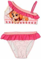 Nickelodeon Paw Patrol bikini roze / wit maat 116