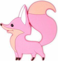 Bijtketting-winkel Vos Bijtring - Roze