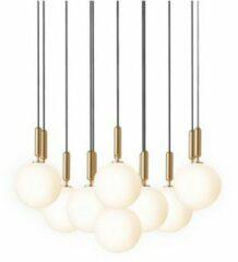 Nuura Miira 13 Large Hanglamp - Messing - Wit