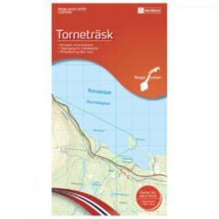 Nordeca - Wander-Outdoorkarte: Torneträsk 1/50 Auflage 2011