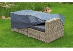 Nature - Tuinmeubelhoes - 2-zits loungebank - Grijs - H60x170x90cm