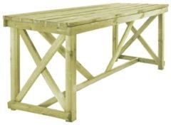 Bruine VidaXL Eettafel voor buiten 160x79x75 cm FSC hout