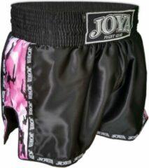 Joya Sportbroek - Maat M - Unisex - zwart/roze/wit