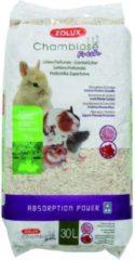 Zolux hennepvezel fresh pioenroos / aalbes geur 30 ltr